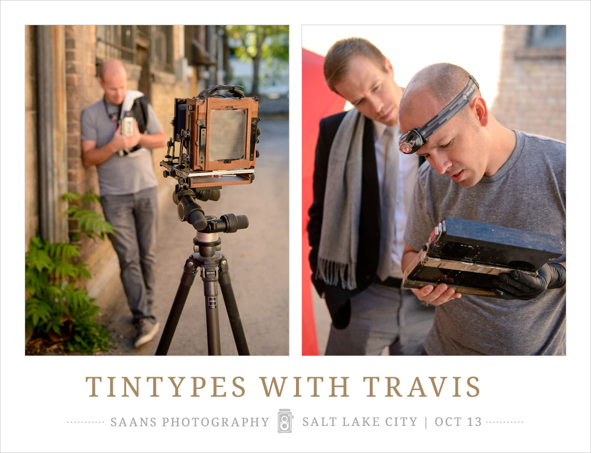 Tintypes photography at Saans Photography Studio in Salt Lake City UT